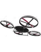 Máy bay trực thăng 4 cánh - drone - flycam - quadcopter điều khiển từ xa